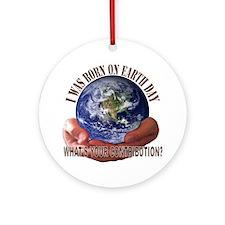 Earth Day Round Ornament