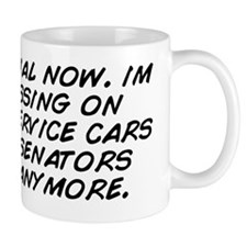 its official now. im not pissing on sec Mug