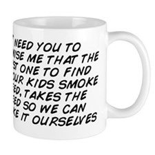 I need you to promise me that the first Mug