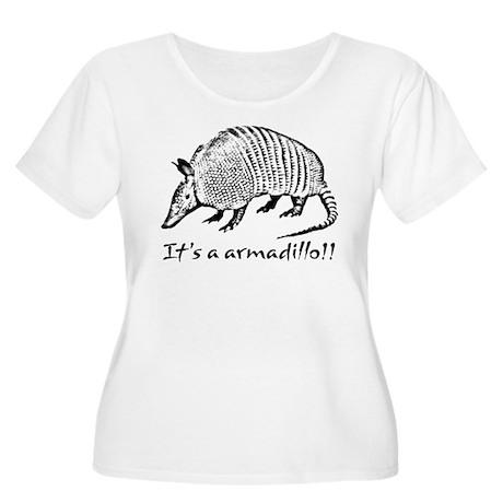 2-armadillo_dark.psd Plus Size T-Shirt