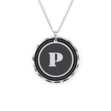 Gray P Necklace