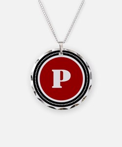 Red P Necklace