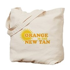 Orange is the New Tan Tote Bag