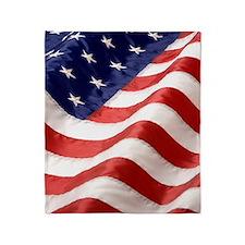 U.S. FLAG Throw Blanket