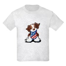 Patriotic Brittany T-Shirt