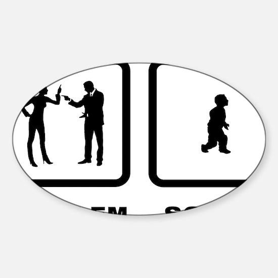 Midget-10-A Sticker (Oval)