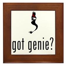 Genie-02-A Framed Tile