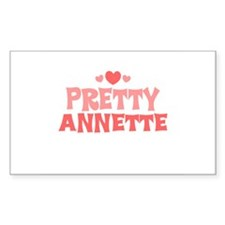 Annette Rectangle Decal