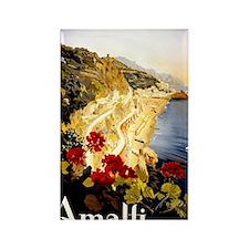 Antique Italy Amalfi Coast Travel Rectangle Magnet