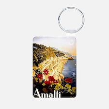 Antique Italy Amalfi Coast Keychains
