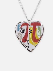 Pi-Casso Pi Symbol Necklace
