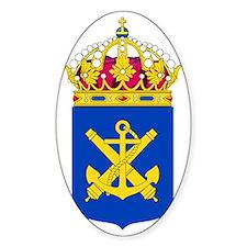 Royal Swedish Navy COA Stickers