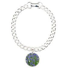Texas Bluebonnets in Blo Bracelet