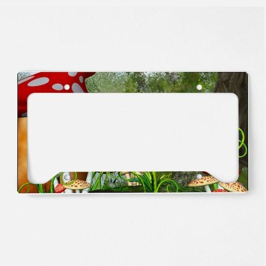 dl_Rectangular Canvas Pillow License Plate Holder