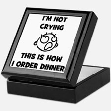 FIN-not-crying-dinner-CROP Keepsake Box