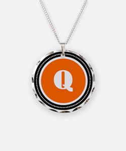 orange Q Necklace