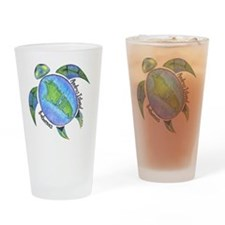 Androsian Turtle Drinking Glass