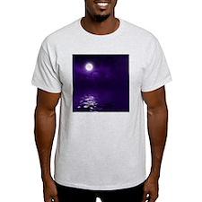 Clouds-Purple-Midnight-Moon T-Shirt
