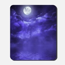 Clouds-Purple-Midnight-Moon-2 Mousepad