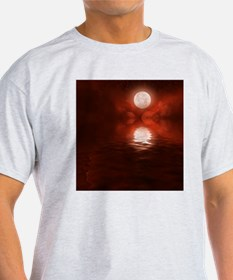 Clouds-BloodRed-2 T-Shirt
