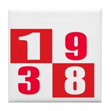 Established 1938 Designs Tile Coaster
