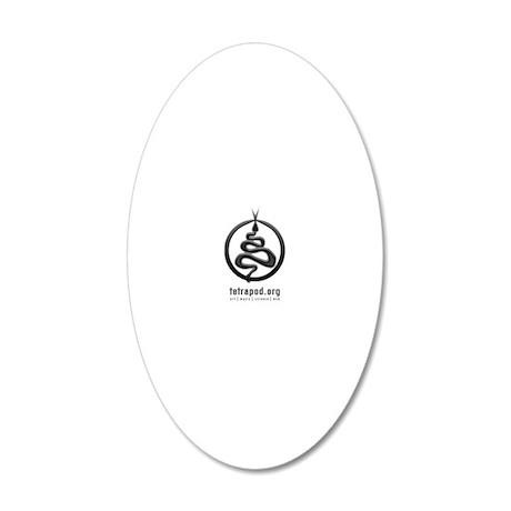2013 MiD/tetrapod logo 20x12 Oval Wall Decal