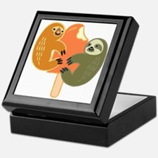 Slothsicle Keepsake Box