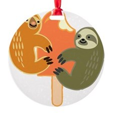 Slothsicle Ornament