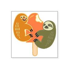 "Slothsicle Square Sticker 3"" x 3"""