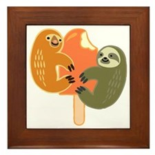 Slothsicle Framed Tile