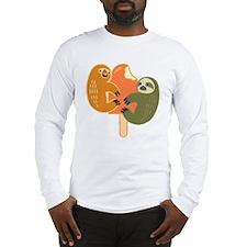 Slothsicle Long Sleeve T-Shirt