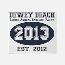 SecondAnnualBachelorParty1 Throw Blanket
