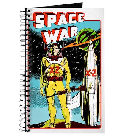Space War scifi vintage Journal