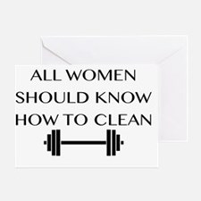 clean Greeting Card