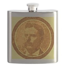 man with the moustache Flask