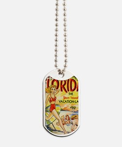 Vintage Florida Vacation Land Dog Tags