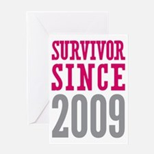 Survivor Since 2009 Greeting Card