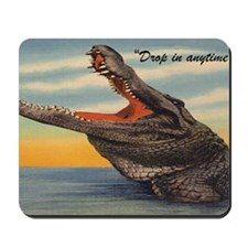 Vintage Alligator Postcard Mousepad