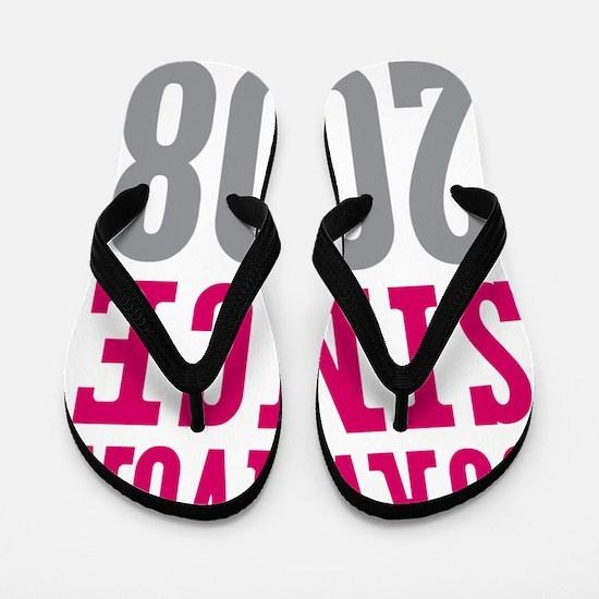 Survivor Since 2008 Flip Flops