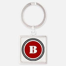 redB Square Keychain