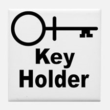 Key-Holder Tile Coaster