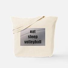 eat, sleep, volleyball Tote Bag