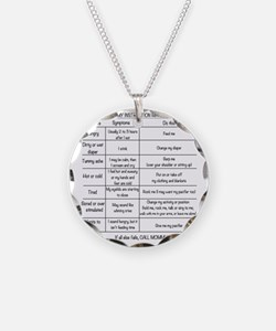 Baby instruction manual Necklace