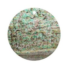 Camoflage Moving Landscape Round Ornament