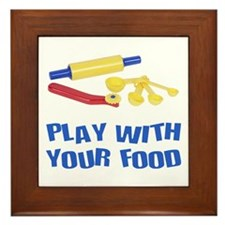 Play With Your Food III Framed Tile