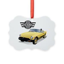 VBCC MGB Yellow C4 Ornament