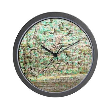 Camoflage Moving Landscape Wall Clock
