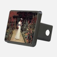 Lady in a Garden Hitch Cover
