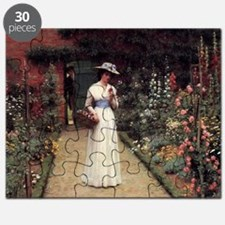 Lady in a Garden Puzzle