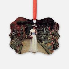 Lady in a Garden Ornament